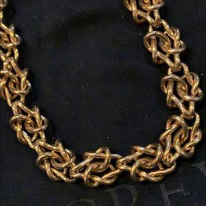 jcrew knot necklace